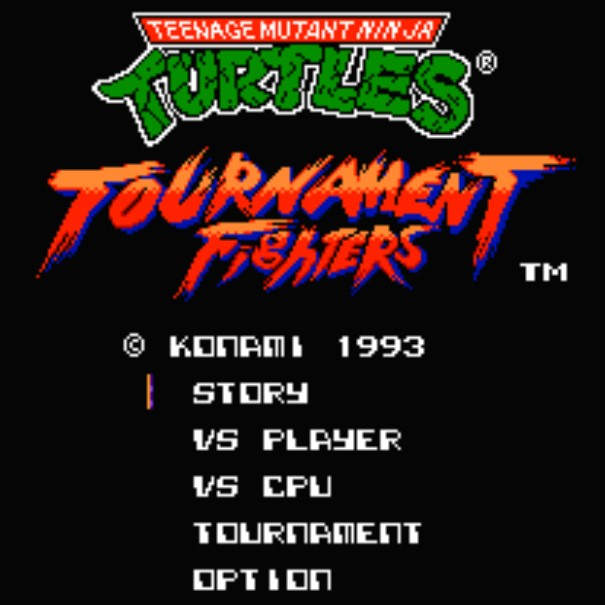 Игра Mutant Ninja Turtles: Tournament Fighters