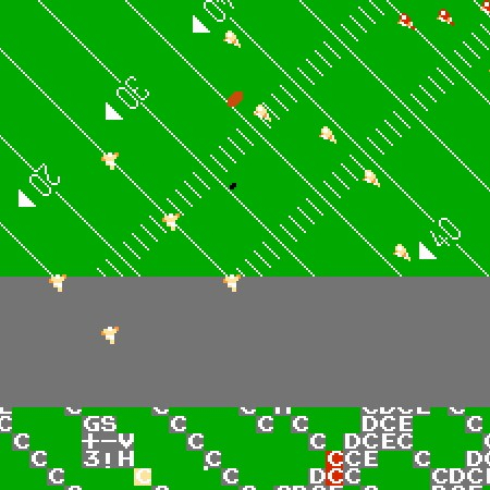 Игра NES Play Action Football