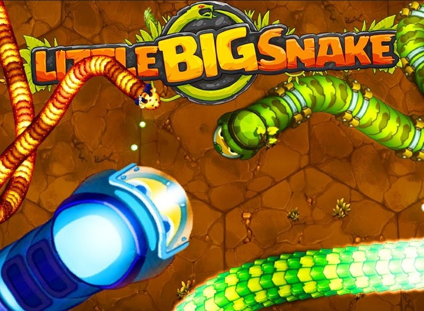 Игра Little Big Snake.io | Большая Змейка ио