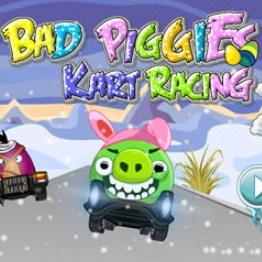 Игра Bad Piggies: Гонки на Картах